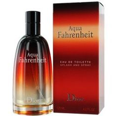 AQUA FAHRENHEIT by Christian Dior EDT SPRAY 4.2 « Impulse Clothes