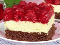 Sweets Cake, Polish Recipes, No Bake Cake, Catering, Cake Recipes, Cheesecake, Food And Drink, Cooking Recipes, Favorite Recipes