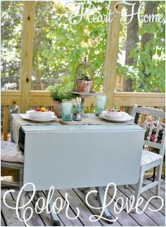 Started my porch makeover with a little help from @Home Depot 's Behr Paint!