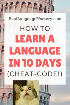 Get ideas and tips on how to learn a language fast in 10 days whatever it is Spanish or Russian, German, French or any languages! take a 7 day FREE testdrive with our e-learning course software today Language Study, French Language Learning, Learn Italian Language, Language Quotes, Greek Language, Languages Online, Foreign Languages, Learning Italian, Learning Spanish