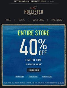 coupon de hollister