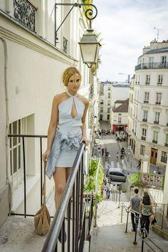 blue-dress-mini-denim-mango-shirt-hm-shoes-navy-boots-ootd-lookbook-look-outfit-blonde-tumblr-girl-paris-street-style-fashion-vogue