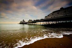 Eastbourne Pier, where the movie was filmed