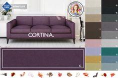 CORTINA czyli najnowsza tkanina marki TOCCARE. Szeroka gama kolorystyczna oraz system H2O Clean.  Piękna prawda??
