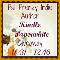 Fall Frenzy Indie Author Kindle Paperwhite #Giveaway ends 12/16/13