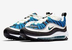 7659066acf Really Cheap Nike Air Max 98 Radiant Emerald Blue Nebula Sail 106 Shoe