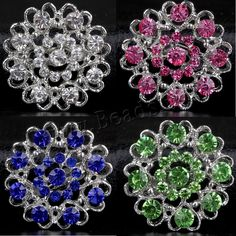 Zinc Alloy Brooches Flower silver color plated for woman with rhinestone lead cadmium fre,china wholesale jewelry beads Semi Precious Beads, Flower Brooch, Lampwork Beads, Wholesale Jewelry, Silver Color, Gemstone Beads, Brooches, Beaded Jewelry, Glass Beads