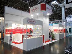 K - Messe Düsseldorf. CANTONI. Ricerca, analisi, promozione e comunicazione. Progettazione e realizzazione dell'allestimento dello stand. Photo by honegger