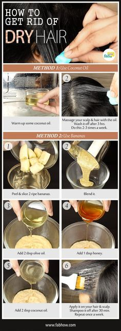 Home Remedies to Get Rid of Dry, Rough Hair Naturally at Home