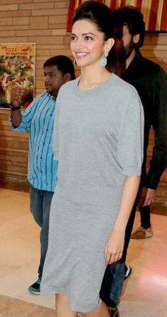 Deepika Padukone at PVR, Director's Cut at the Ambience Mall, Vasant Kunj to promote her film Finding Fanny.