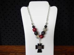 Cute Beaded Necklace by texasjunkandjewels on Etsy, $30.00
