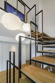 """STAIRCASE / STRIPCASE """"Stripcase"""" is a special staircase designed by Istanbul based Ofist created as a focal point and stands up as a central piece regardin..."""