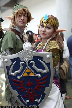 The perfect Link and Zelda cosplay -- down to the details!