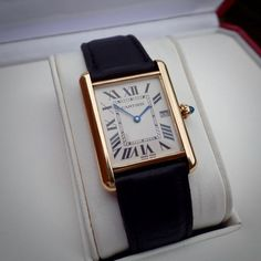 Cartier TANK Louis 18ct SOLID Gold 2441 Full Size 18k Deployment Clasp 750 in Jewellery & Watches, Watches, Parts & Accessories, Wristwatches | eBay - watches, leather, designer, designer, apple, sport watch *ad