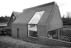 Дом из красного кирпича фото проекты