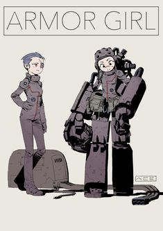 ArtStation - girls, by tan di Comic Character, Character Concept, Character Design, Robot Costumes, Arte Cyberpunk, Robot Illustration, Robot Concept Art, Science Fiction Art, Tecno
