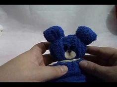 Como fazer um ursinho de toalha