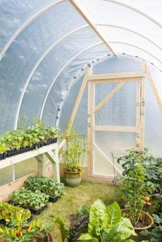 Build your own hoop greenhouse. | Living the Country Life