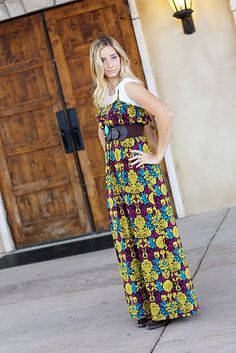Maxi Dress Tutorial-I need to know a good with sewing girlfriend.... I would take this in TONS of different fabrics.