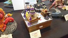 Bolo vencedor Gold Award em Birmingham - INGLATERRA no Cake Internacional Birmingham