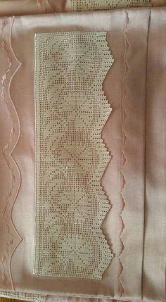 Diy Crafts - Women Vest Cone Pattern New Knitting Design Free Filet Crochet, Crochet Fox, Crochet Borders, Love Crochet, Crochet Motif, Crochet Doilies, Easy Crochet, Diy Crafts Crochet, Crochet Projects
