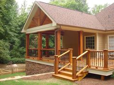 Tidy fulfilled porch design modern Now Hiring - All For Garden Screened Porch Designs, Screened In Deck, Patio Deck Designs, Back Patio, Backyard Patio, Backyard Shade, Patio Gazebo, Covered Patio Design, Covered Decks