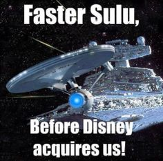 If this memo was written sometime soon.. I would not be surprised. Dear Trekkies: Resistance is futile. Kind Regards: #Disney #Paramount #CBS