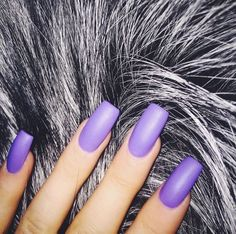 Soft baby purple nail polish fake nails