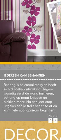 Behang is terug van weggeweest. Vind de laatste behang trends bij Rijnhoek Plaza in Bodegraven.