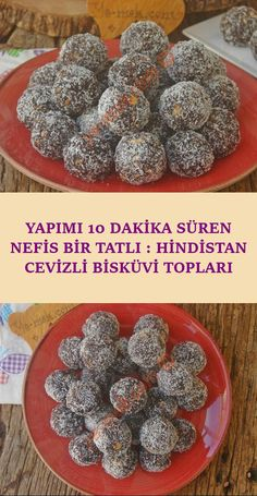 In a short time, with a little material to prepare, practical, delicious, a recipe that you can eat next to tea and coffee . Turkish Kitchen, Biscuit Cookies, Mini Desserts, Cookie Recipes, Granola, Muffin, Cooking, Breakfast, Food