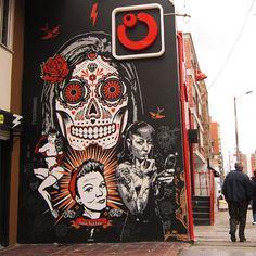 Graffiti Art Wall  Serafini Amelia  Le street-art de Toxicómano