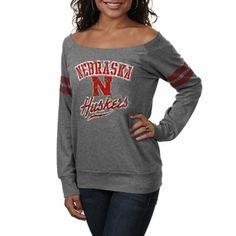 Nebraska Cornhuskers Ladies Flash Dance Sweatshirt