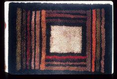 1076028 on eHive Rya Rug, Wool Rug, Textile Artists, Modern Rugs, Floor Rugs, Weaving, Objects, Carpet, Cushions
