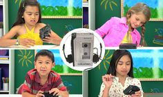 The hilarious reactions of children presented with a Sony Walkman http://dailym.ai/P3bXmQ #DailyMail
