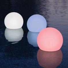 Floating Globe Lights!
