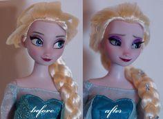 Elsa repaint by lulemee on DeviantArt