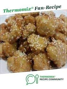 Chinese Honey Chicken by MrsQ. A Thermomix ® recipe in the category Main dishes - meat on www.recipecommunity.com.au, the Thermomix ® Community.