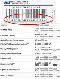 usps tracking number format 9405 usps tracking number