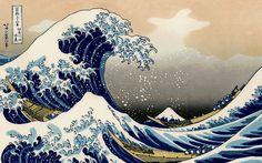 Japanese woodcut by Katushika Hokusai