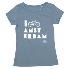 I Bike Amsterdam Citadel Blue Women T-shirt