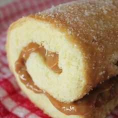 Vanilla Caramel Swissroll. Just what a caramel addict needs