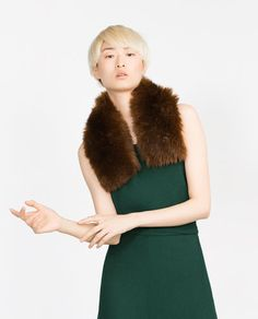 Image 3 of FAUX FUR SNOOD from Zara