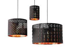 nym lamp shade black copper color cuivre lampadaires et lampes. Black Bedroom Furniture Sets. Home Design Ideas