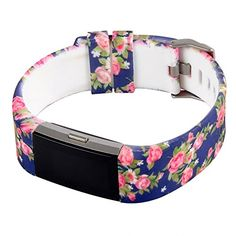 "Huishang Charge 2 Classic Accessory Band for Fitbit charge 2 Heart Rate and Fitness Wristband Replacement bands (Rose). Perfectly fit for Fitbit Charge 2. Multi style and color to satisfy your different occasion and personalize yourself. High quality soft silicone wristband makes comfortable and durable wear. Fits for wrist size : 5.5"" - 8.1"". No tracker, only the replacement band for changing."