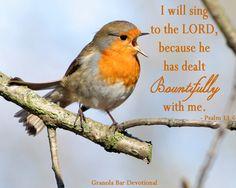 He Has Dealt Bountifully to Me