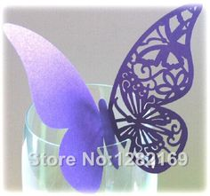 Cheap butterfly wedding favour boxes, Buy Quality butterfly card holders directly from China butterfly long Suppliers: 50 pieces/lot Wedding Supplies Paper Butterfly Cup Card Ornaments Hollow Butterfly Wedding DIY Decorative CardSpeci