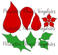 Christmas Giant Poinsettia Paper Flowers DIY by CatchingColorFlies Large Paper Flowers, Giant Paper Flowers, Paper Roses, Small Flowers, Felt Flowers, Poinsettia Wreath, Christmas Poinsettia, Christmas Crafts, Christmas Decorations