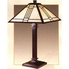 Arts U0026 Crafts Table Lamps | Craftsman Desk Lamps, Craftsman Desks And White  Oak