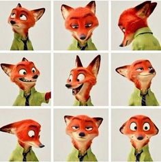 "I am Nick Wilde I live in Zootopia and best ""Cop"" friends with Judy hops, I might be a little sarcastic ;) But in the end I come thru as a great friend Disney Animation, Disney Pixar, Disney And Dreamworks, Disney Art, Walt Disney, Disney Characters, Animation Movies, Disney Dream, Disney Love"