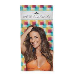 Toalha Ivete Sangalo #IveteSangaloShop #Beach #bandUPStore